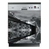 Spülmaschine Aufkleber New York
