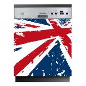 Spülmaschine Aufkleber United Kingdom-Flagge