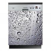 Spülmaschine Aufkleber Wassertropfen
