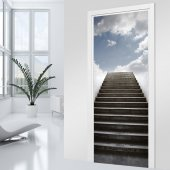 Staircase Door Stickers