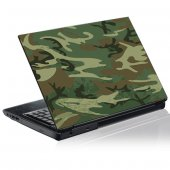 Sticker laptop exterior Camuflaj