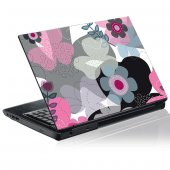 Sticker laptop exterior Grafica Floare