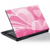 Sticker laptop exterior Grafica Inima