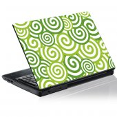 Sticker laptop exterior Grafica Spirala
