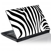 Sticker laptop exterior Zebra