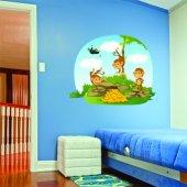 Sticker Pentru Copii Maimute