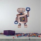 Sticker Pentru Copii Robot Cleste