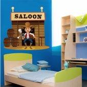 Sticker Pentru Copii Salon