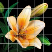 Sticker pentru faianta Floare