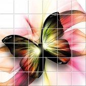 Sticker pentru faianta Fluture
