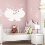Sticker tabla velleda Fluture