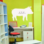 Sticker tabla velleda Porc