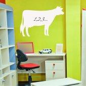 Sticker tabla velleda Vaca