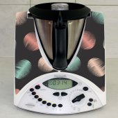 Sticker Thermomix TM 31 Design Rotund Multicolor