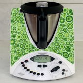 Sticker Thermomix TM 31 Design Rotund Verde