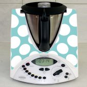 Sticker Thermomix TM 31 Rotund Alb