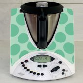 Sticker Thermomix TM 31 Rotund Verde