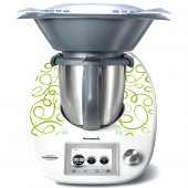 Sticker Thermomix TM 5 Banda Verde