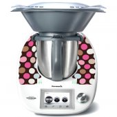 Sticker Thermomix TM 5 Cercuri Multicolore