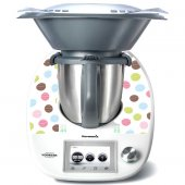Sticker Thermomix TM 5 cu Buline Multicolore