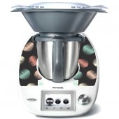 Sticker Thermomix TM 5 Design Rotund Multicolor
