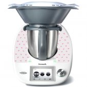 Sticker Thermomix TM 5 Inima Roz