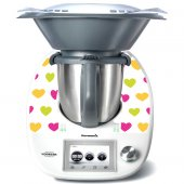 Sticker Thermomix TM 5 Inimi Multicolore