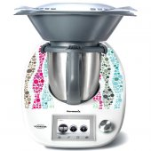 Sticker Thermomix TM 5 Mozaic in Culori