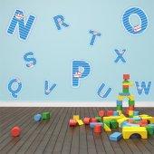 Stickere copii kit Alfabet