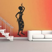 Stickers africaine