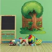 Autocollant Stickers enfant arbre