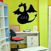 Stickers ardoise dragon