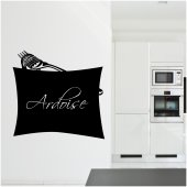 Stickers ardoise fourchette