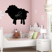 Stickers ardoise mouton
