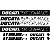 Autocollant - Stickers Ducati 1198r
