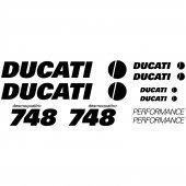 Autocollant - Stickers Ducati 748 desmoquattro