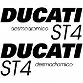 Autocollant - Stickers Ducati ST4 desmodromico