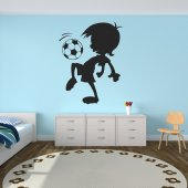 Stickers enfant foot