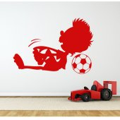 Stickers enfant foot