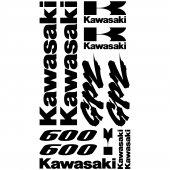 Autocollant - Stickers Kawasaki GPZ 600