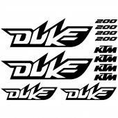 Autocollant - Stickers Ktm 200 duke