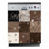 Stickers lave vaisselle café