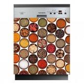 Stickers lave vaisselle épices