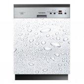 Stickers lave vaisselle gouttes d'eau