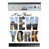 Stickers lave vaisselle New-York