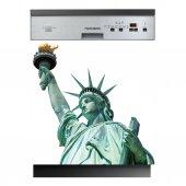 Stickers lave vaisselle statue de la liberté