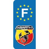 Stickers Plaque Abarth