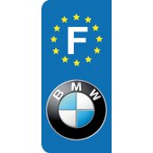 Stickers Plaque BMW