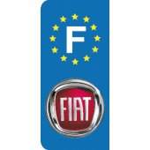 Stickers Plaque Fiat