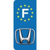 Stickers Plaque Honda